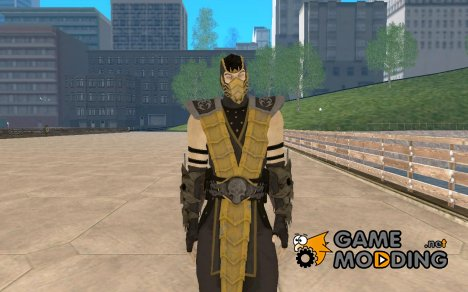 Scorpion alternative costume for GTA San Andreas
