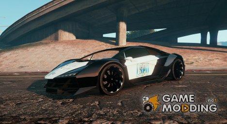 Lamborghini Police (Zentorno) LSPD for GTA 5