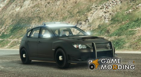 LAPD Subaru Impreza WRX STI  for GTA 5