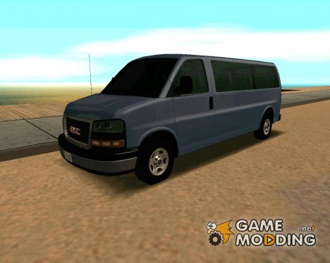 GMC Savana 3500 for GTA San Andreas