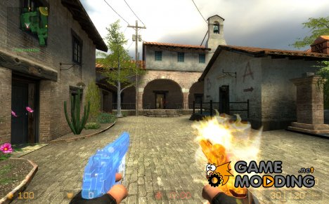 Ice's Heaven and Hell Berettas для Counter-Strike Source