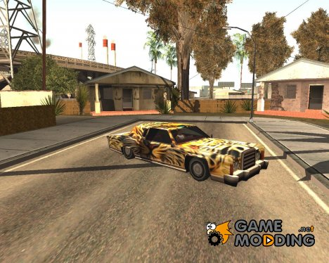 Новая покрасочная работа для Remington для GTA San Andreas