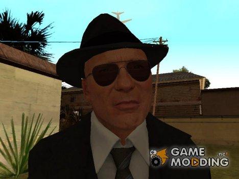 Jimmy's Black Long Coat from Mafia II для GTA San Andreas