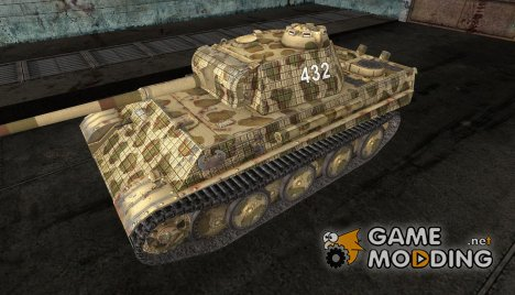 шкурка для танка PzKpfw V Panther for World of Tanks