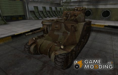 Шкурка для американского танка M3 Lee для World of Tanks