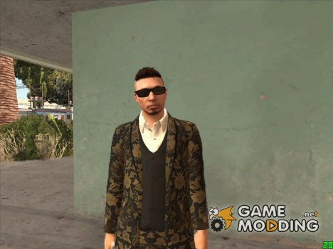 GTA Online Executives Criminals v4 для GTA San Andreas