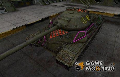 Контурные зоны пробития ИС-8 для World of Tanks