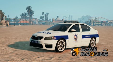 Skoda Octavia Türk Polis Arabası for GTA 5