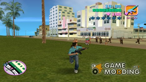 Zombies v1.4 for GTA Vice City