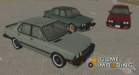 BMW 535i US-spec (e28) XS 1985 для GTA Vice City