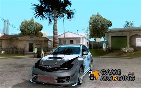 Subaru Impreza WRX 2008 Tunable для GTA San Andreas
