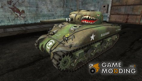 Шкурка для M4 Sherman for World of Tanks