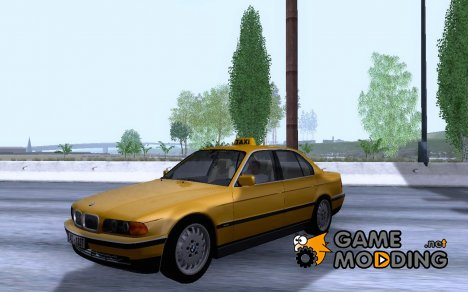 BMW 730i E38 1996 Taxi for GTA San Andreas