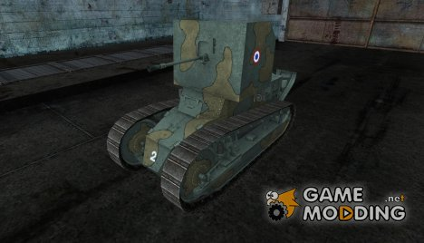 Шкурка для RenaultFT AC for World of Tanks