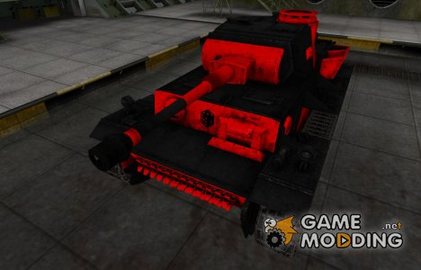 Черно-красные зоны пробития VK 36.01 (H) для World of Tanks