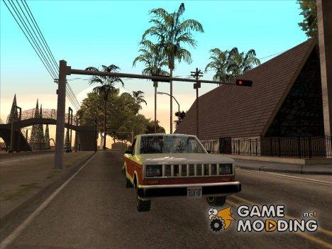 ENB только отражения авто (crow edit) для GTA San Andreas