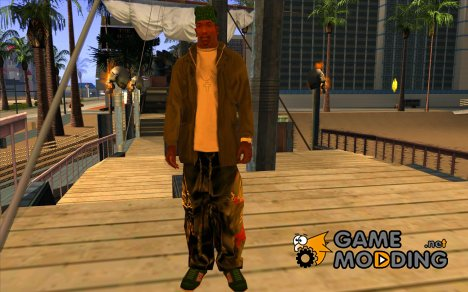 Hip-hop jeans for GTA San Andreas