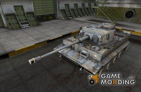 Ремоделлинг для VI Tiger I для World of Tanks