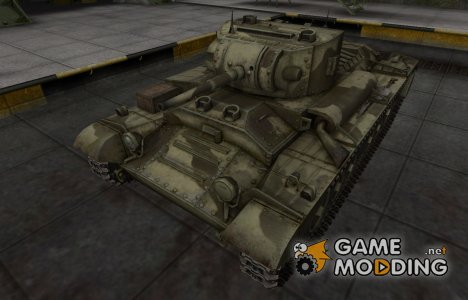 Пустынный скин для Валентайн II для World of Tanks