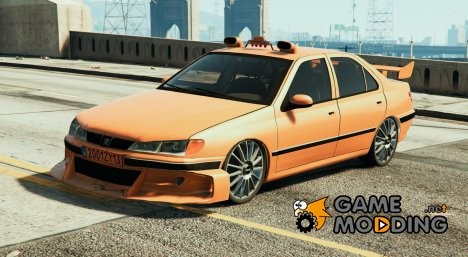 Peugeot Taxi for GTA 5