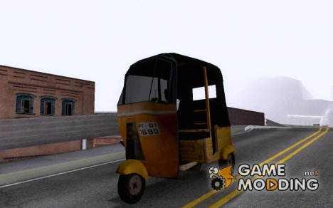 Bajaj Tuk-Tuk Rickshaw for GTA San Andreas