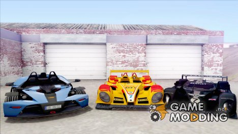 Race Track Car Pack для GTA San Andreas