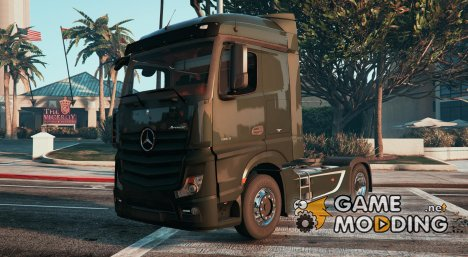 Mercedes-Benz Actros MP4 4X2 для GTA 5