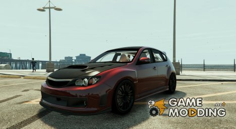 Subaru Impreza WRX STI 1.1 для GTA 5