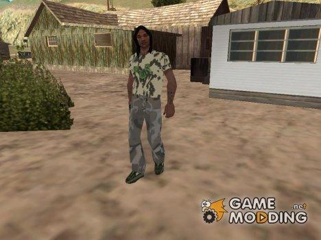 Индеец  в новом имидже для GTA San Andreas