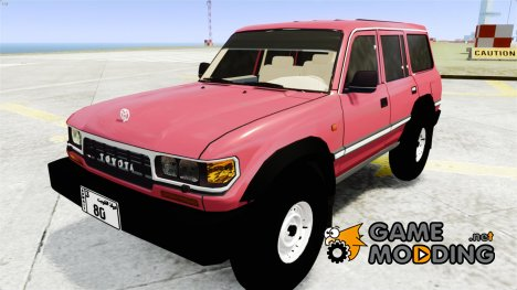 Toyota Land Cruiser GX by alialmoot 1997 для GTA 4