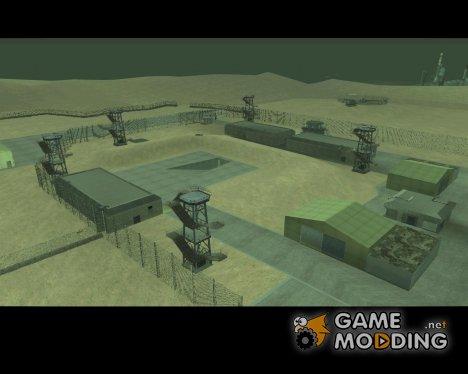 Зона 51 для GTA San Andreas