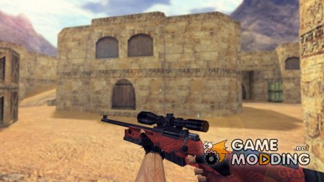 AWP Boom Retexture for Counter-Strike 1.6