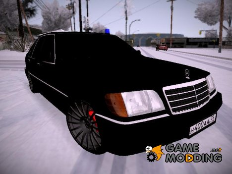 "Mercedes-Benz W140 400SE ""Депутат"" for GTA San Andreas"