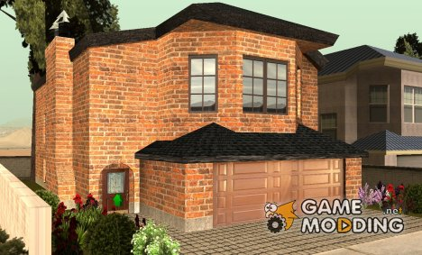 CJ's New Brick House для GTA San Andreas