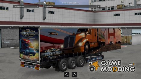 American Truck Simulator by LazyMods for Euro Truck Simulator 2