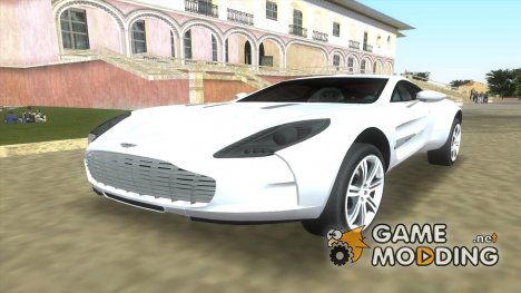 Aston Martin One 77 for GTA Vice City