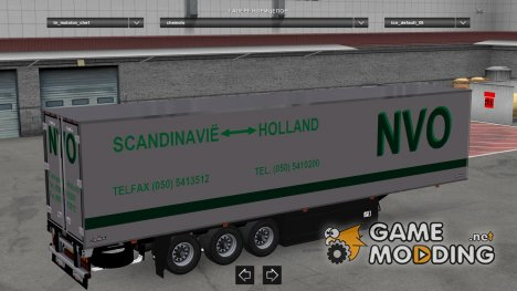 MDM Chereau Virgin Dutch Skins for Euro Truck Simulator 2