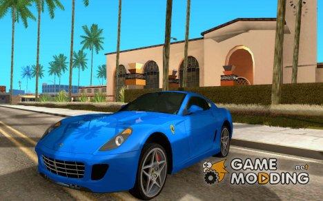 Ferrari 599 GTB Fiorano (чёрный салон) for GTA San Andreas