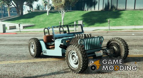 Jeep Willys Hot-Rod 1.1 для GTA 5