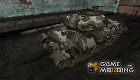 шкурка для M10 Wolverine №14 для World of Tanks