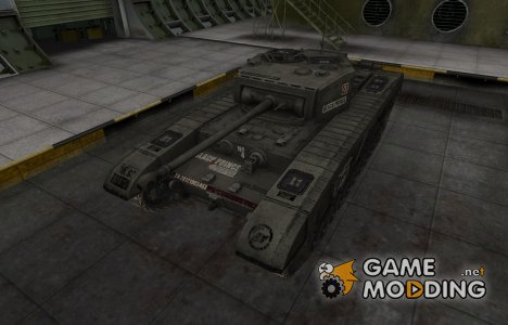 Отличный скин для Matilda Black Prince for World of Tanks