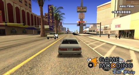 Mafia II HUD v2 для GTA San Andreas