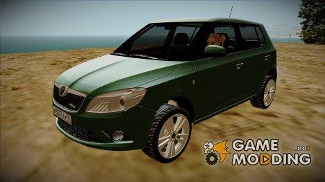 Skoda Fabia RS (2010) for GTA San Andreas