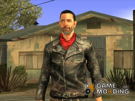 The Walking Dead No Man's Land Negan для GTA San Andreas