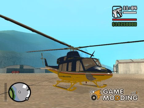 Bell 412 for GTA San Andreas