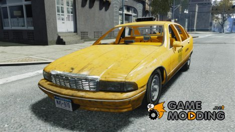 Chevrolet Caprice Taxi for GTA 4