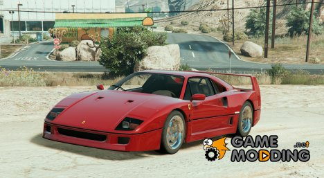 1987 Ferrari F40 1.1.2 for GTA 5