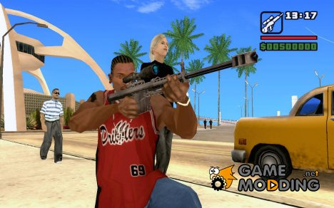 Barret из Call of Duty 4: Moden Warfare для GTA San Andreas