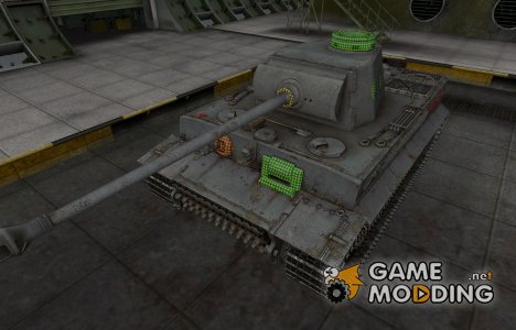 Зона пробития PzKpfw VI Tiger для World of Tanks