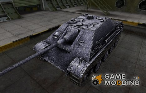 Темный скин для Jagdpanther for World of Tanks
